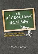 Pdf Le Décrochage Scolaire Telecharger