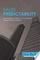 Sales Predictability
