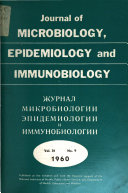 Journal of Microbiology  Epidemiology and Immunobiology