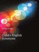 Crabb's English Synonyms Pdf/ePub eBook