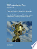 Rugby World Cup 1987 - 2011 Complete Results & Statistics