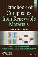 Handbook of Composites from Renewable Materials  Functionalization Book