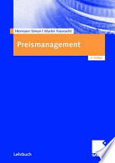 Preismanagement  : Strategie - Analyse - Entscheidung - Umsetzung