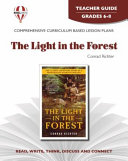 The Light in the Forest Teacher Guide