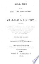 Narrative of the Life and Suffering of William B. Lighton