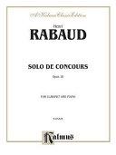 Solo de Concours, Op. 10