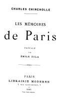 Les mémoires de Paris