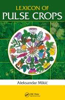 Pdf Lexicon of Pulse Crops Telecharger