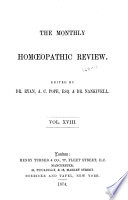 Monthly Homoeopathic Review