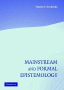 Mainstream and Formal Epistemology