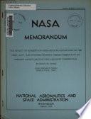 NASA Memorandum