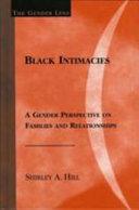 Black Intimacies