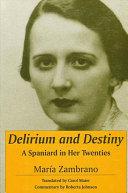 Pdf Delirium and Destiny