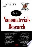 Focus on Nanomaterials Research Book