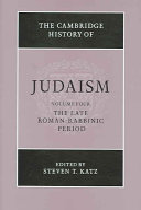 The Cambridge History of Judaism: Volume 4, The Late Roman-Rabbinic Period