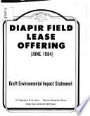 Proposed Diapir Field Lease Offering (June 1984)