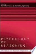 Psychology of Reasoning