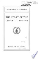 The Story Of The Census 1790 To 1915 Book PDF