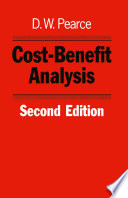 Cost Benefit Analysis 2nd Edition