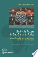 Electricity Access in Sub Saharan Africa