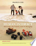 Human Intimacy Marriage The Family And Its Meaning Research Update