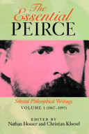 The Essential Peirce Book Cover