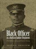 Black Officer in a Buffalo Soldier Regiment