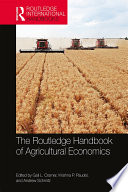The Routledge Handbook Of Agricultural Economics PDF