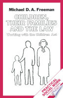 Children  their Families and the Law Book