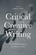 Critical Creative Writing