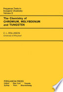 The Chemistry of Chromium  Molybdenum and Tungsten