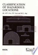 Classification of Hazardous Locations Book