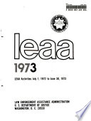 Annual Report of LEAA
