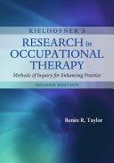 Kielhofner's Research in Occupational Therapy Pdf/ePub eBook