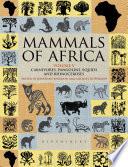 Mammals of Africa  Volume V