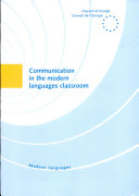 Communication in the Modern Languages Classroom