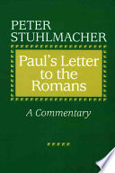 Paul S Letter To The Romans Book PDF