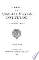 Journal of the Military Service Institution of the United States Book PDF