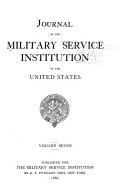 Journal of the Military Service Institution of the United States