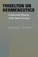 Thiselton on Hermeneutics Pdf/ePub eBook