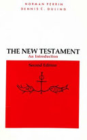 The New Testament  an Introduction Book