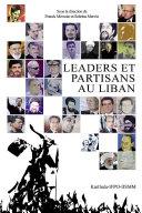 Pdf Leaders et partisans au Liban