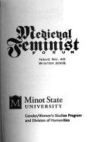 Medieval Feminist Forum