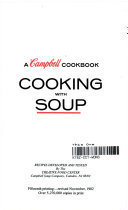 a campbell cookbook cooking with soup