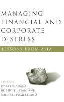 Managing Financial and Corporate Distress Book