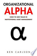 Organizational Alpha
