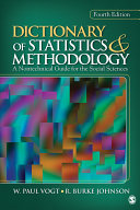 Dictionary of Statistics & Methodology