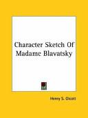 Character Sketch of Madame Blavatsky