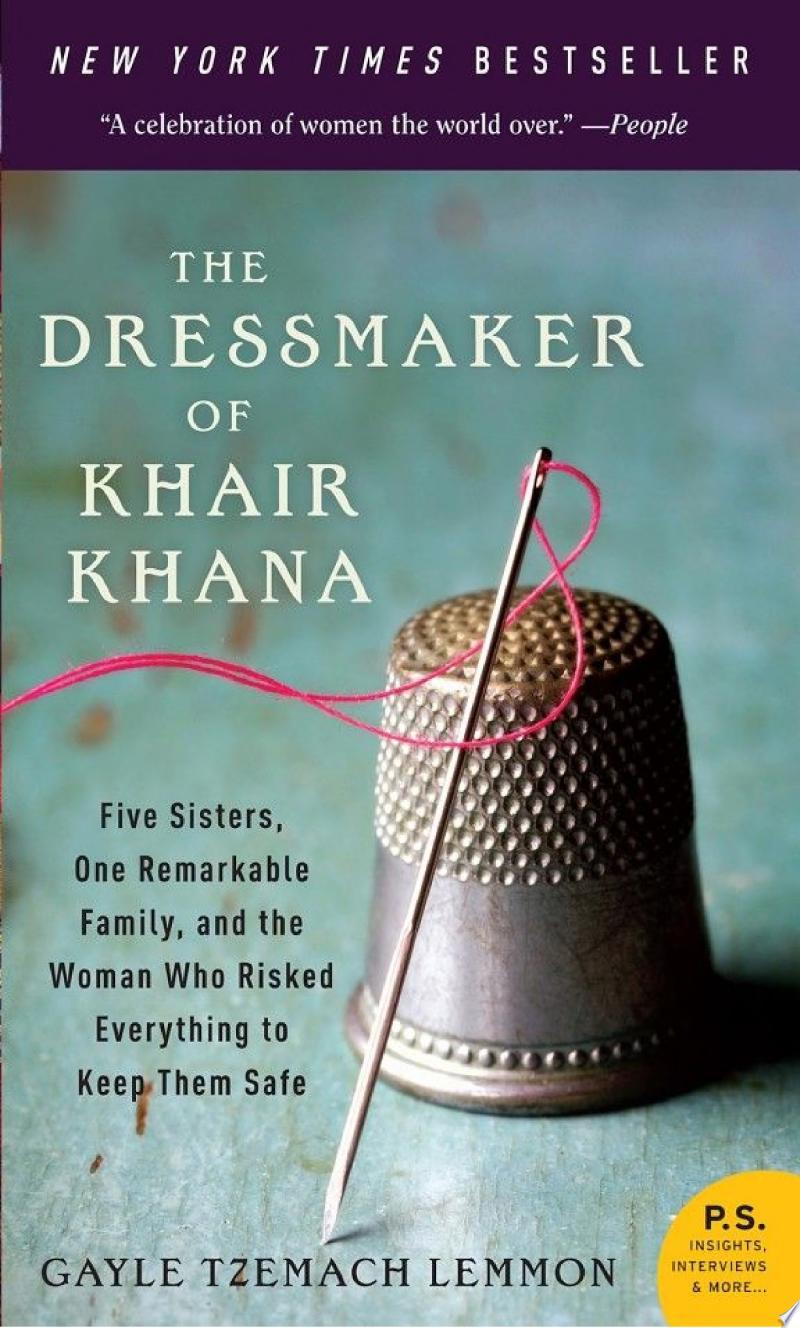 The Dressmaker of Khair Khana banner backdrop