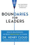 Boundaries for Leaders